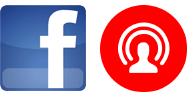 Facebook and Live Stream icons